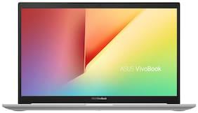 ASUS VivoBook Ultra K14 K413FA-EK819T Thin and Light Laptop (Intel Core i3-10110U 10th Gen/14-inch FHD/4GB RAM/512GB NVMe SSD/Windows 10/Integrated Graphics/Transparent Silver/1.40 kg)