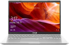 "Asus Vivobook X509JA-EJ019T Laptop (Intel Core i3-10th Gen 1005G1/4GB Ram/1TB HDD/15.6"" FHD/Windows 10 Home/1.99 kg/Transparent Silver/No ODD) Without Optical Drive"