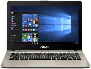 Asus X441UA-GA597 Laptop (Intel Core i3 8th Gen 8130U @2.2GHz Processor/ 4GB DDR4 Ram/ 1TB HDD/ 14 inch HD/ Dos/ 1.8kgs/ Black) Without Optical Drive