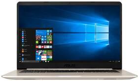 ASUS X510 ( Core i7- 8th Gen/8 GB/1TB / 15.6 FHD/ Windows 10/ 2GB MX150 )  Thin & Light Laptop X510UN- EJ330T ( Gold /1.7 kg)