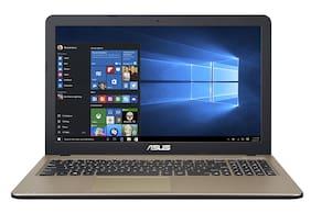 "ASUS X540NA-GQ285T Laptop (Intel Celeron N3350 @1.1GHz/ 4GB RAM/ 1TB HDD/ 15.6"" HD Screen/ Windows 10 Home/ Black/ 1.7kgs/ No ODD) Without Optical Drive"