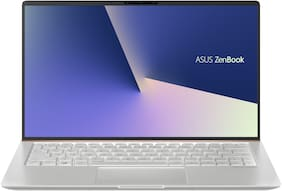 ASUS Zenbook 13 UX333 ( Core i7- 8th Gen/8 GB/ 512GB SSD / 33.78 cm (13.3 Inch) FHD/ Windows 10 ) Ultra Thin & Light Laptop UX333FA-A4115T ( Icicle Silver /1.19 kg)