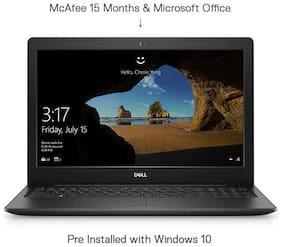 Dell Inspiron 15 3593 15.6-inch FHD Laptop (10th Gen Core i3/4GB/1TB HDD/Windows 10 + MS Office/Intel HD Graphics)(Black, 2.03 Kg)
