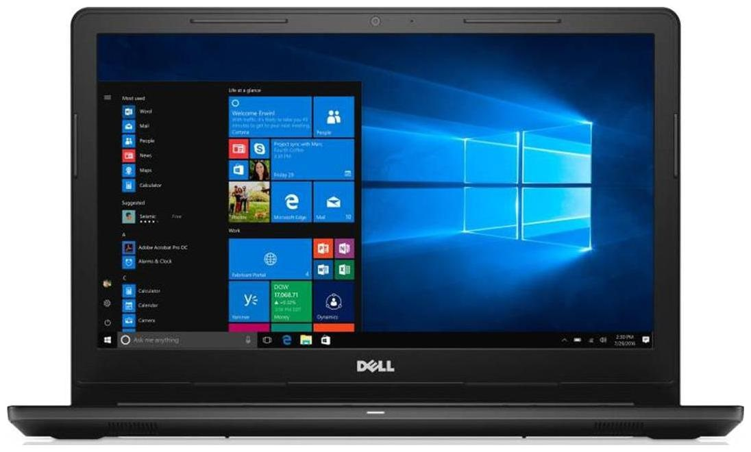 Dell Inspiron 3000 (Core i3 - 6th Gen/4 GB RAM/1 TB HDD/15.6 Inch/Windows 10/ MS Office HandS 2016) Inspiron 3567 (Foggy Black, 2.2 kg)