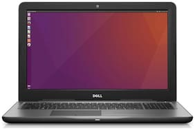 "Dell Inspiron 5567 (Core i3 (6th Gen)/4 GB/1 TB/39.6 cm (15.6"")/Ubuntu) Black"