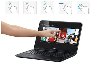 Dell Inspiron 15 3521-Touch (Intel Core i3 3217 U/4GB RAM/ 500 GB HDD/39 62  cm (15 6) HD Touch Screen/Windows 8/Integrated Graphics) (Black)
