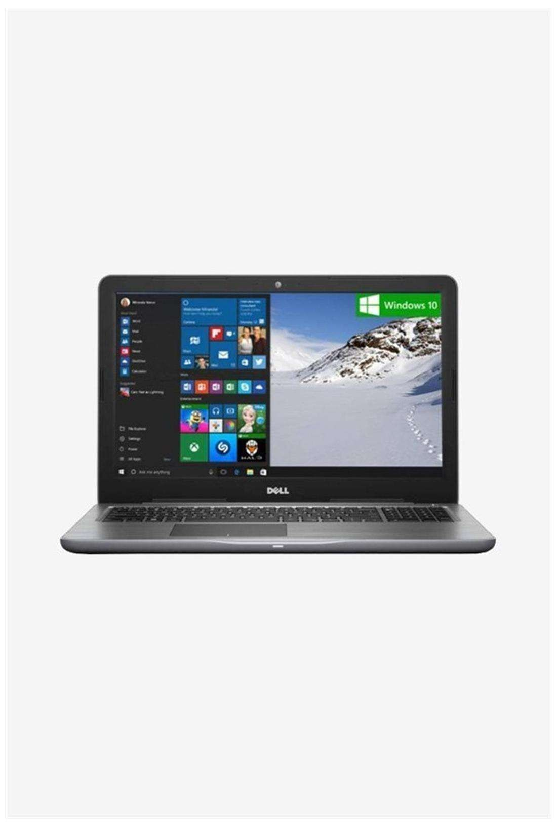 Dell Inspiron 15 5567 (A563506WIN9) (Core i3 (6th Gen)/4GB RAM/1TB HDD/15.6'' FHD/Windows 10) (Grey)