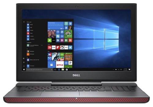 Dell Inspiron 15 7567  Core i7  7th Gen /16  GB/1 TB + 256  GB SSD/39.62 cm  15.6 /4 GB GDDR5 NVIDIA GeForce GTX 1050   Red, 2.6 kg