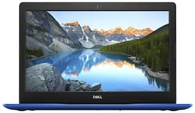 Dell Inspiron 3000(Core i3-7th Gen/4 GB RAM/1 TB HDD/39.62 cm (15.6 inch) FHD/Windows 10)Inspiron 3584(Blue,2.03 Kg)