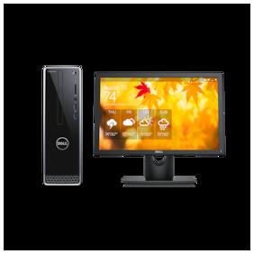 Dell Inspiron 3470 Desktop (Inten Pentium Gold/4GB RAM/1TB HDD/Ubuntu/Dell 20 Monitor) (Black)