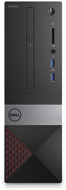 Dell Vostro 3470 Desktop (Core i3- 9th Gen/4GB RAM/1TB HDD/Windows 10/MS Office) (Black)