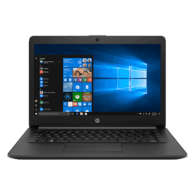 "HP 14 (A4-9th Gen/4GB/1TB HDD/14"" HD/Windows 10/AMD Radeon R3 Graphics) 14-CM0123AU (Jet Black, 1.54 kg)"