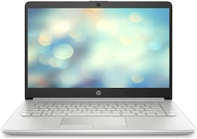 HP 14-DK0093AU (Ryzen 5/ 8GB/ 1TB HDD + 256GB SSD/ 14-inch FHD/ Windows 10 Home/ Integrated Graphics) Thin and Light Laptop (Natural Silver, 1.7kg)
