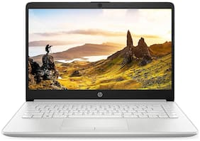HP 14 (Intel Core i3-1005G1(10th Gen)/8 GB RAM/512 GB SSD/35.56 cm (14 inch)/FHD/Windows 10/MS Office) 14s-dr1008tu (Natural Silver, 1.5 kg)