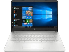 HP 14 10th Gen Intel Core i7 Ultra Thin and Light FHD Laptop (i7-1065G7/8GB/512GB SSD/Win 10/MS Office 2019/Natural Silver/1.46 Kg), 14s-DR1010TU