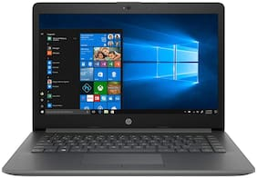 HP 14q-cs0007tu (Intel Core i5-8th Gen)/4 GB DDR4 RAM/1 TB HDD/35.56 cm (14 inch)/Windows 10 Home/Integrated Graphics) Thin and light Laptop (Smoke Grey, 2 kg)