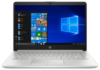 HP  14s-cr1005tu (Core i5-8th Gen/ 8GB/ 1TB HDD + 256GB SSD/ 35.56cm (14inch) FHD/ Windows 10/ MS Office) Thin and Light Laptop  (Silver, 1.42kg)