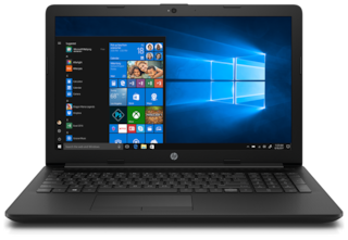 HP 15 (AMD A4/4 GB/1 TB/15.6 inch/Windows 10) 15-db0209au (Black  2.1 kg)