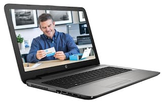 HP 15-ay019tu (Core i3-5005U(5th Gen)/4 GB/1 TB HDD/15.6''(39.62cm)/DOS /Intel HD Graphics) (Grey)