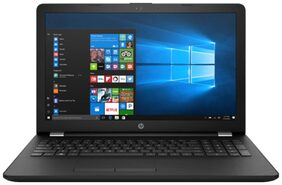 HP 15-BS654TU Laptop (Core i3 7th Gen 7100 @2.4GHz/4GB DDR4 Ram/1TB Hdd/39.62 cm (15.6 Inch) Full HD Display/Integrated DVD+RW/Windows 10 Home 64bit), Black