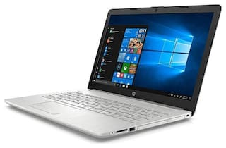 HP 15 (Core i3-7th Gen/ 4 GB/ 1 TB/ 39.62cm (15.6 inch) FHD/ Windows 10/ MS Office )15-da0327tu (Natural Silver, 2.1Kg)