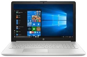 HP 15 (Core i3 (7th Gen)/4 GB RAM/ 1 TB HDD/ 39.62 cm (15.6 inch) FHD / Windows 10) 15-da0326tu (Natural Silver, 2.1 Kg)