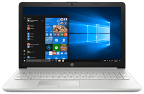 HP 15-DA0388TU 15.6-inch Laptop (7th Gen Core i3-7020U/8GB/1TB HDD/Windows 10  Home/Intel UHD 620 Graphics)  Natural Silver