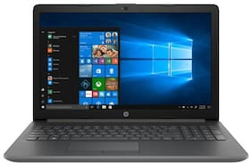 HP 15-da0400tu (7th Gen Core i3-7020U/8 GB RAM/1 TB HDD/35.56 cm (15.6-inch)/Windows 10 Home/Intel HD 620 Graphics) Laptop (Smoke Grey, 1.77 kg)