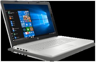HP 15 (Ryzen R3/4GB/1TB/15.6FHD/Windows 10/Microsoft Office H&S 2016) 15-db0186au (Silver, 2.2 kg)