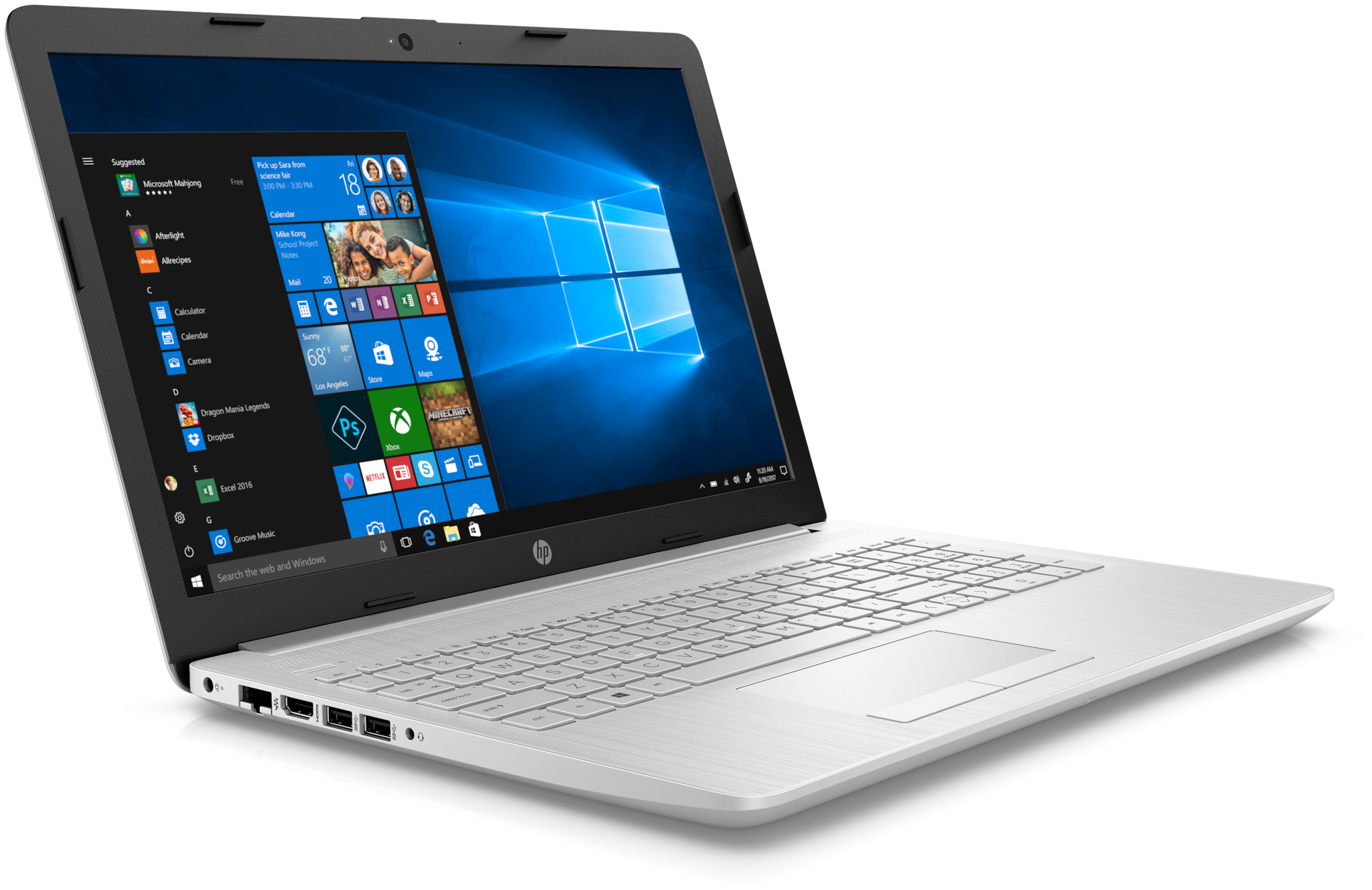 "HP 15 (Ryzen R3/4GB/1TB/15.6""FHD/Windows 10/Microsoft Office H"