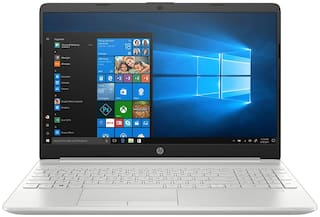HP 15 Thin & Light 15.6-inch FHD Laptop (11th Gen Intel Core i5-1135G7, 8GB DDR4, 1TB HDD, Windows 10 Home, MS Office, Integrated Graphics, FPR, Natural Silver, 1.76 Kg), 15s-du3032TU