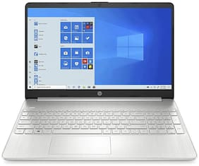 HP 15 Thin & Light 15.6-inch FHD Laptop with Alexa Built-in(11th Gen Intel Core i3-1115G4/8GB DDR4/1TB HDD/Win 10 Home/MS Office/Natural Silver/1.76 Kg), 15s-du3038TU