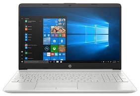 HP 15s (Core i3-8th Gen/8GB/1TB HDD/15.6 inch FHD/Windows 10/Integrated Graphics/MS Office) DU0093TU Thin and Light (Natural Silver, 1.77Kg)