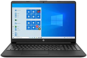 HP 15s-DU1052TU Laptop (Intel Pentium Gold 6405U @2.4GHz/4 GB RAM/1 TB HDD/39.62 cm (15.6 inch)/FHD/Windows 10 Home/No ODD/Without Optical Drive) (Jet Black, 1.8 kg)