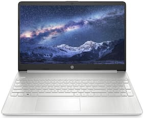 HP 15s du2009tu 15.6-inch FHD Laptop (Core i3-1005G1/4GB/1TB HDD/Windows 10/MS Office 2019/Intel UHD Graphics), Natural Silver, 2.5 Kg