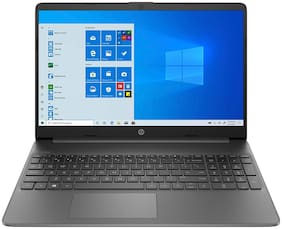 HP- 15s-du2067tu -172R4PA (Intel Core I3 10Th Gen/ 4 Gb DDR4/ 1 TB HDD + 256 Gb SSD/ 39.6 Cm (15.6 Inch) Windows 10) (Jet Black  1.75 Kg)