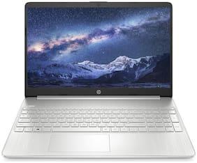 HP 15s fr1004tu 15.6-inch Laptop (10th Gen Intel Core i3/4GB/512GB SSD/Windows 10 Home/MS Office/Natural Silver/1.77kg)