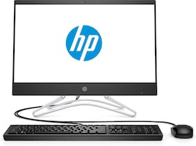 HP 200 G3 Anti-Glare Full HD Business All in One PC (Intel Pentium Quad Core-6th Gen/4 GB RAM /1 TB HDD/21.5 inch/Win 10 Home) 5JP74PA (Black)