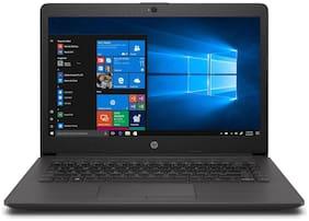 """HP Business Notebook (AMD A6-9th Gen/ 4GB/ 1TB/ 14"""" HD/ DOS/ No ODD) 245 G7 (Black, 2.5Kg)"""