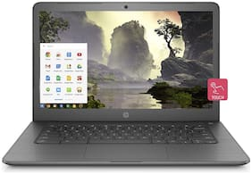 HP Chromebook 14-inch Thin and Light Touchscreen Laptop with 180-degree Hinge(4GB/64GB eMMC Storage/Chrome OS/Backlit/Touch/Chalkboard Grey/2.15 kg), 14-ca002TU 6YU23PA