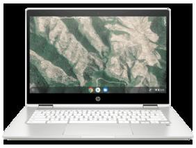 HP ChromeBook Celeron Dual Core - (4 GB/64 GB EMMC Storage/Chrome OS) 14b-ca0015TU Chromebook  (14 inch, Natural Silver, 1.58 kg)
