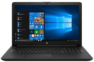 HP 15 DA0410TU (Core i3-7th Gen/ 4GB/ 1TB HDD/ 15.6inch FHD/ Windows 10/ MS Office/ Integrated Graphics) (Black, 1.8Kg)