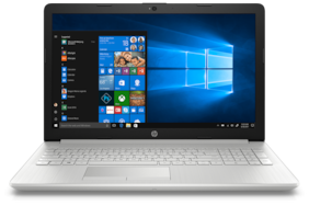 HP Notebook 15 (Core i5 (8th Gen)/8GB/1TB HDD/15.6 inch FHD/Windows 10/MS Office H&S 2016) da1041TU (Silver,2.4kg )