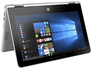 HP Pavilion x360 (Core i3-8th Gen/ 4GB DDR4/1TB HDD/29.46 cm (11.6 inch)/ Win10) 11-ad106tu Thin & Light Convertible Laptop (Natural Silver, 1.39 Kg)