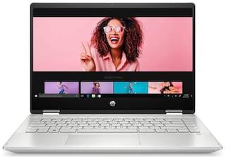 HP Pavilion x360 14-dh1180tu (Intel Core i7-10510U(10th Gen)/8 GB RAM/512 GB SSD/35.56 cm (14 inch)/Windows 10 Home/Intel UHD Graphics) (Mineral Silver, 1.58 kg)