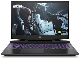 HP Pavilion Gaming 11th Gen Intel Core i7 15.6-inch (39.62 cm) FHD Gaming Laptop (16GB RAM/512GB SSD/144Hz/GTX 1650 4GB Graphics/Win 10/MS Office/Shadow Black/2.28 Kg)  15-dk2075tx