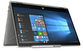 HP Pavilion x360 (Core i5 -8th Gen/8 GB/1TB/8 GB SSD/35.56 cm (14 Inch) FHD touchscreen/Windows 10 with MSO H&S)) 14-CD0080TU Thin & Light Convertible Laptop (Natural Silver, 1.68 kg)