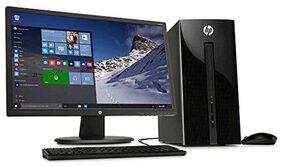 "HP SLIMLINE 290 (INTEL I3-8100 (QUAD CORE) / 4 GB / 1 TB HDD / 50.8 cm (20"") / WINDOW 10 HOME) 290-P0061IN , TOWER DESKTOP (BLACK)"