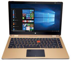 """iBall CompBook Aer3 (Pentium Quad Core/4 GB/64 GB/33.78 cm (13.3"""")/Windows 10) (Gold)"""