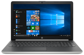 Laptop Hp 15G Notebook ( Core i5 (8th Gen)/8 GB RAM/1TB HDD/2GB Graphic/15.6 FHD/Window 10) DR0006TX (Silver  1.6 K.g )
